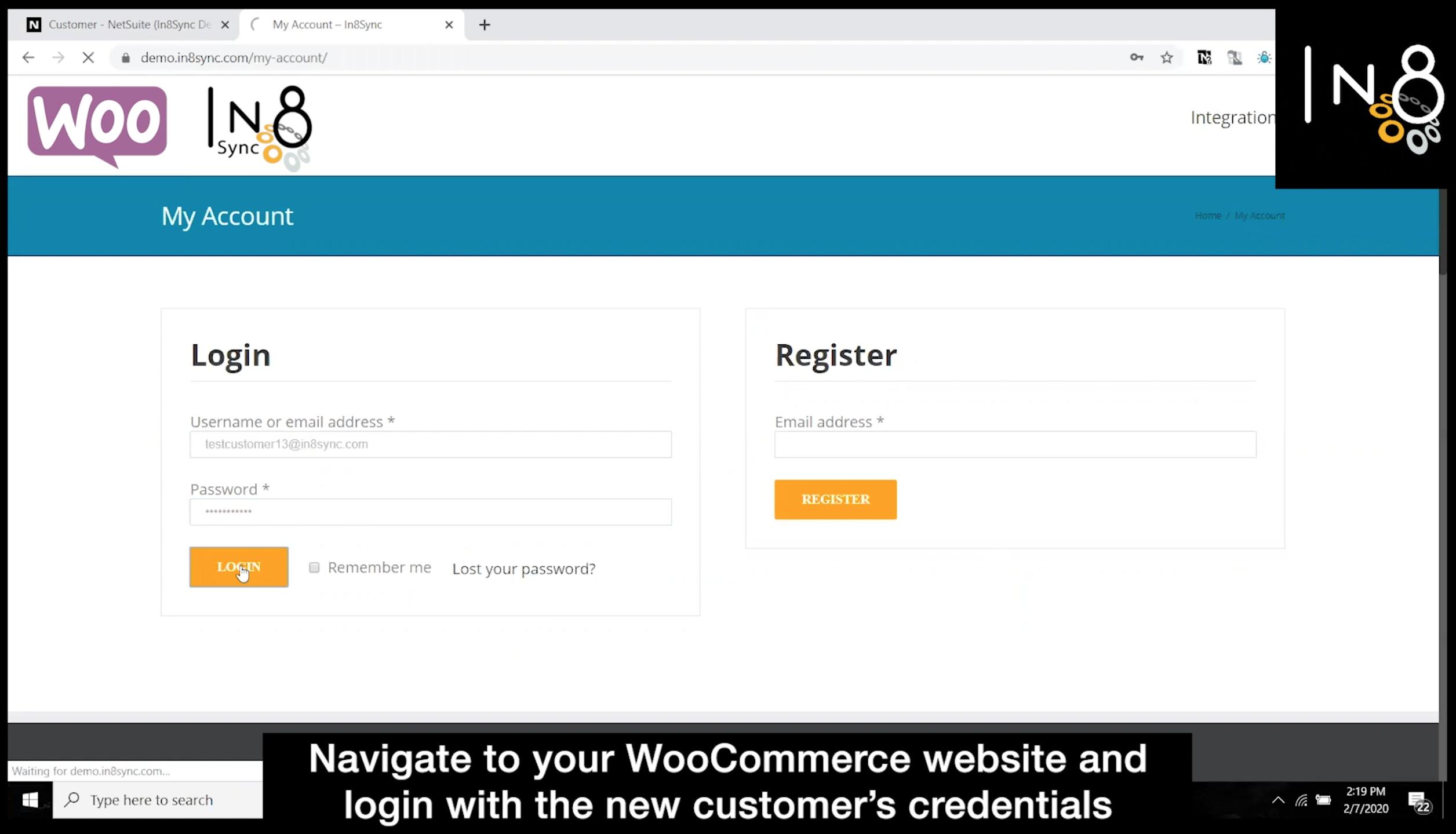 WooCommerce Customer Sync Step 4